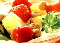 Crema de mascarpone cu fructe