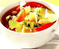 Supa italieneasca de cartofi