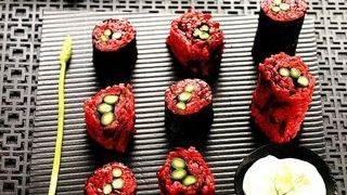 Red sushi cu sparanghel
