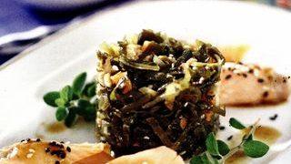 Salata de alge deshidratate
