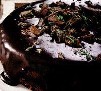 Tort_cu_glazura_de_ciocolata_cu_menta