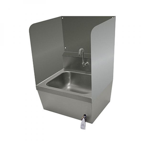 commercial hand sink splash guards