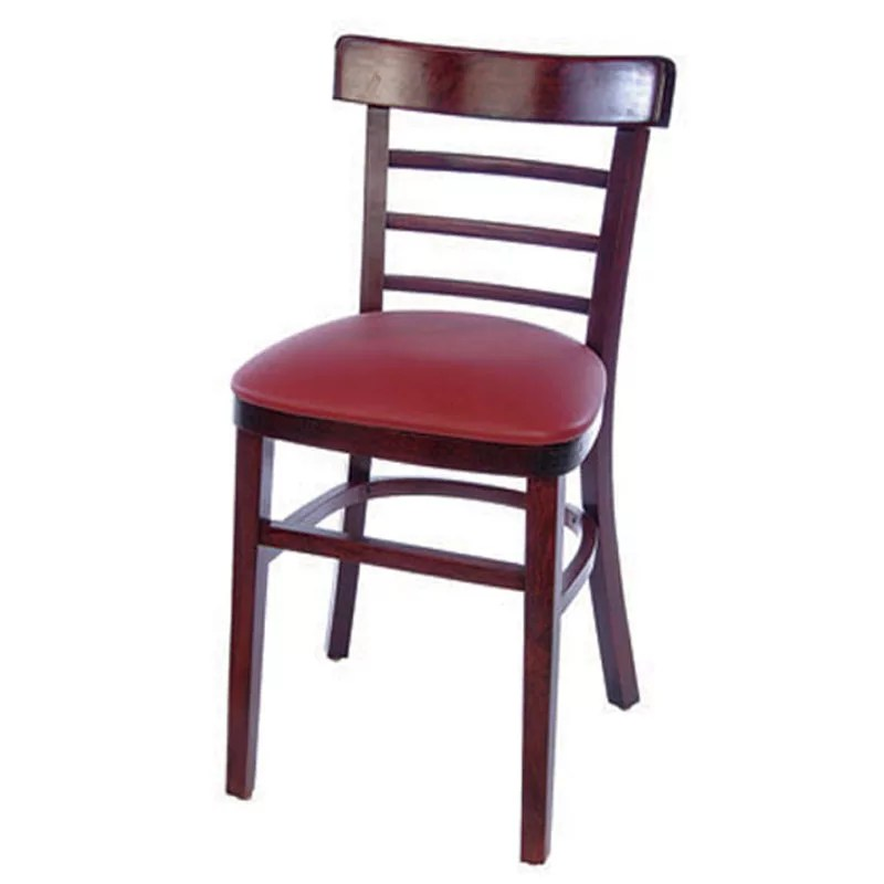 Home / Shop / Wood Restaurant Chairs / Ladderback Wood Chair
