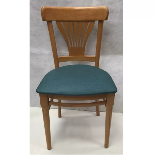 Fan Back Wood Chair