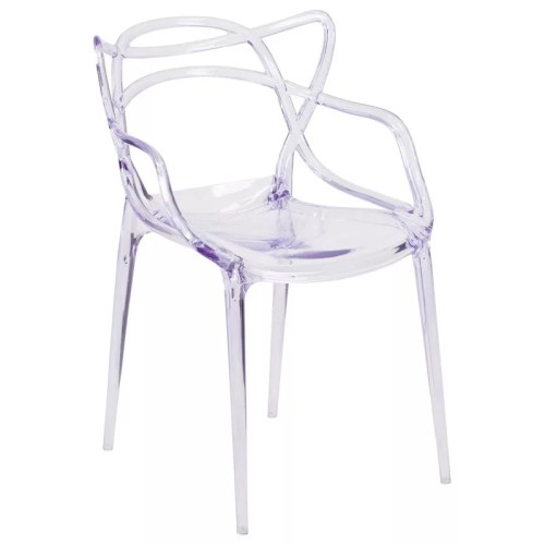 Miles Crystal Stackable Chair