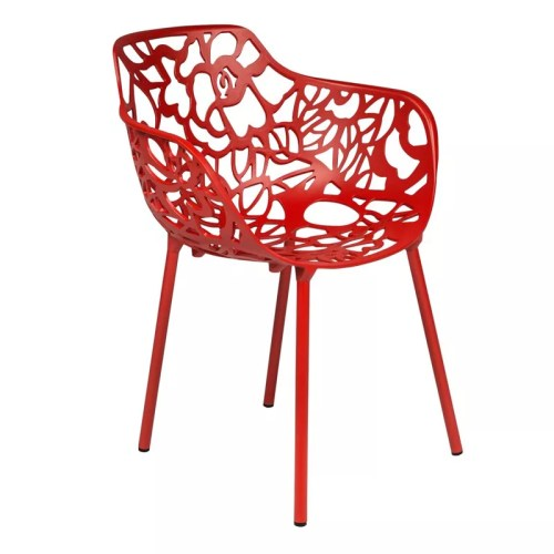 Brava Aluminum Arm Chair