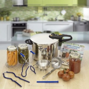 Duo+Stainless+Steel+9+Piece+Pressure+Canning+Set