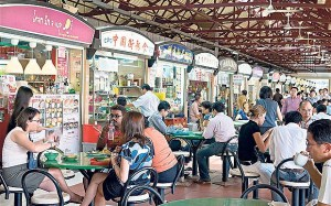 Anthony Bourdain is bringing a Singapore-style Hawker Center to New York.