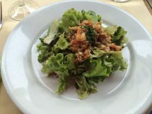 Marinated Crayfish Salad