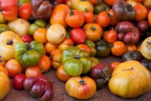 heirloom tomates
