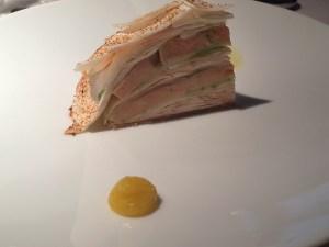 Foie Gras, Apple & Mushroom Millefeuille