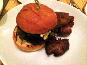 Duck & Foie Gras Burger