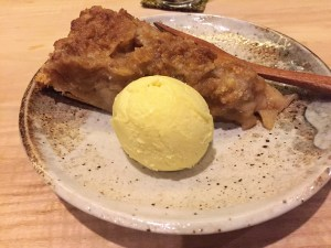 Apple Pie with Bay Leaf Ice Cream