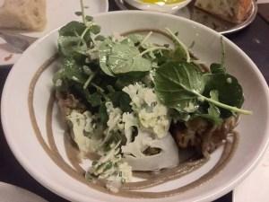 Salad of Roast & Raw Cauliflower