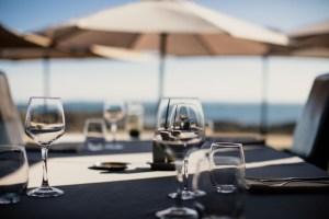 Terrasse sur plage - Restaurant La Grande Plage, Port-Louis dans le Morbihan