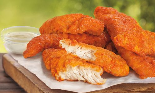Fast Food Friday Double Header Burger King Buffalo Chicken Strips