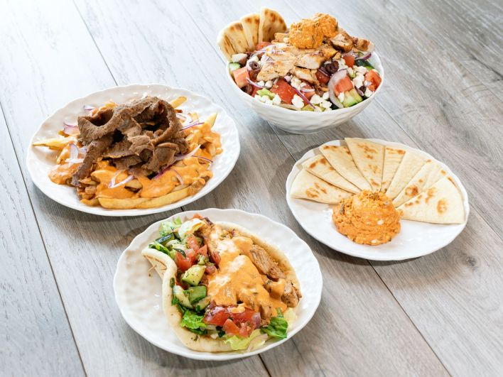 Daphne's offers traditional entrees like hand-carved gyro and grilled seafood to more modern dishes like Fire Feta Fries and Mix & Match Plates made with premium, wholesome, and authentic ingredients.