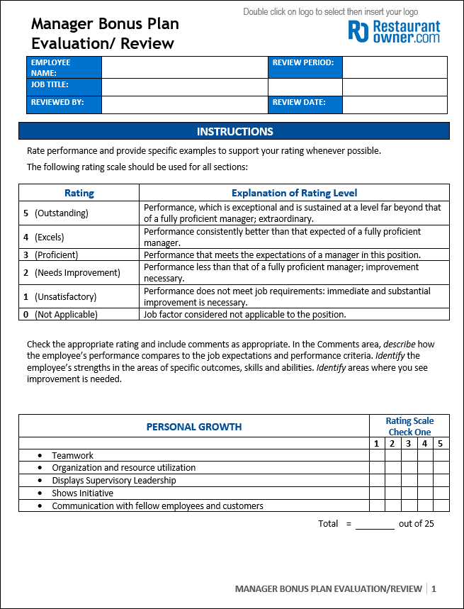 Program Review Template  my that is an exceptional 6 train around
