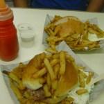Khan's beef burger