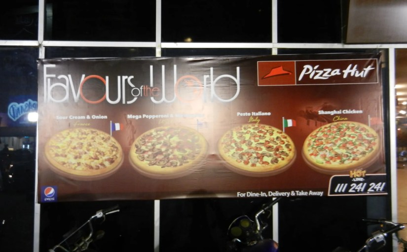 Pizza Hut Flavors of the World