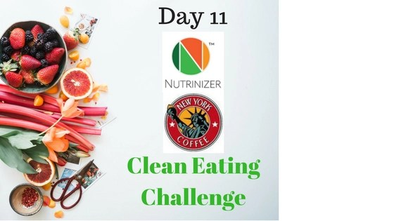 Nutrinizer & New York Coffee – Clean Eating Challenge Day 11