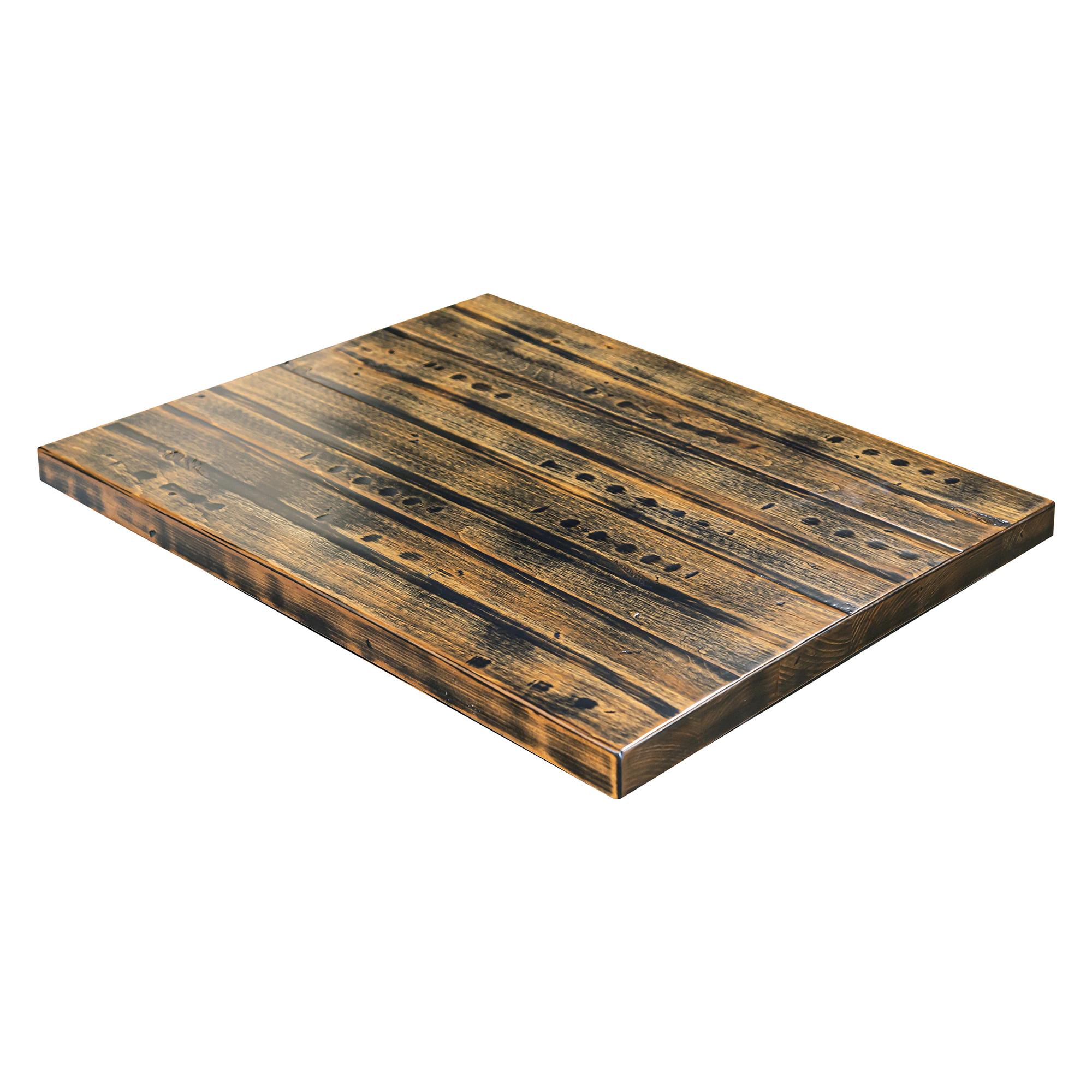 pine distressed table top w apron barn furniture