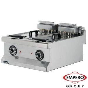 Elektrisk frityr 2X10 liter - 14.4 kw - Empero EMP.6FE020