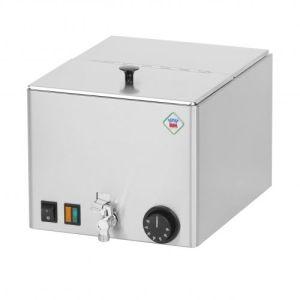 Pølsevarmer - Avtappingskrane - todelt lokk - 1-fase-230 Volt