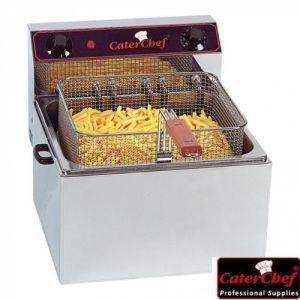 Frityr 10 liter - 6kw - CaterChef