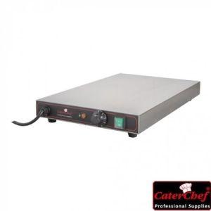Varmeplate 1/1 GN – 600W 1 fase 230V - CaterChef