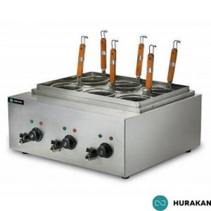 Pastakoker - 6000W 1 fase 230V - HURAKAN HKN-EKT60