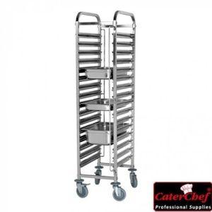 Kjøkkenutstyrsvogn 16 hyller - CaterChef