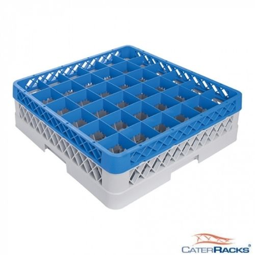 Oppvaskkurv for glass - 36 rom - høy - CR3621
