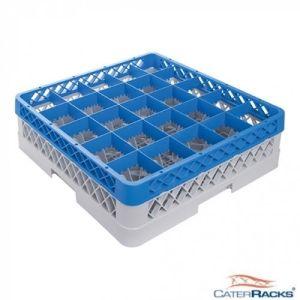 Oppvaskkurv for glass - 25 rom - høy - CR2521