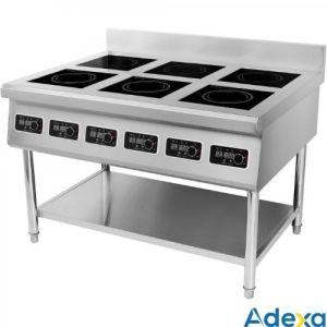 Induksjon koketopp - Kokebord 6X3500WATT - Adexa AMTCD601
