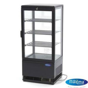 Kakedisk - Kjølekabinett - 78 liter - Svart - Maxima