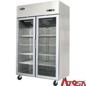 Kjøleskap med glassdør – 1300 liter – ATOSA GERMANY – MCF8605GR)