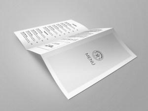 Trifold restaurant menu template - google docs, ms word