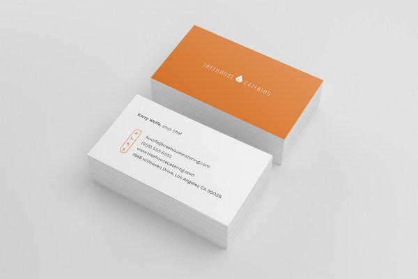 Business Card Templates - Restaurant Spider