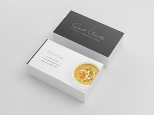 Business Card Template - Restaurant Spider