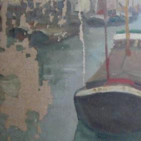 Lacunes de peinture