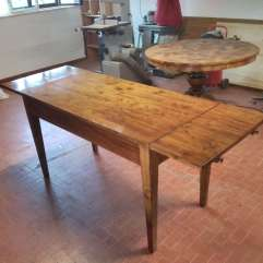 Restyling solid pine table