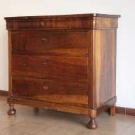 Chest of drawers Louis Philippe walnut