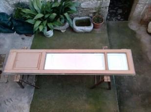Renovation chestnut wood fixtures