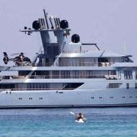 Il mega yacht dell'uomo più ricco di Russia in Sicilia