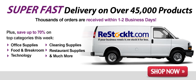 Fast Delivery on Office Supplies