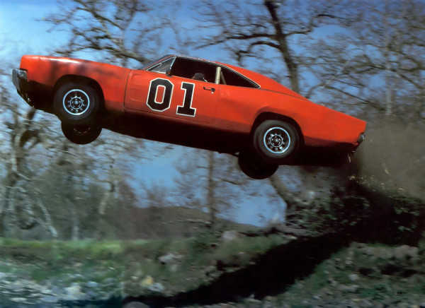 Image result for dukes of hazzard general lee jump