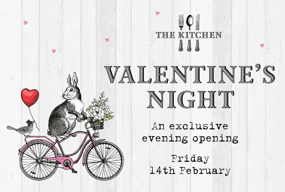 Valentine's Night at The Kitchen