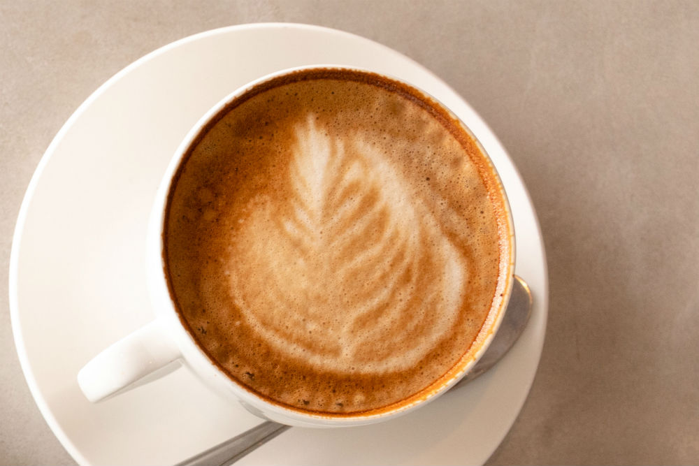 Coffee at The Coffee Bar, Restoration Yard