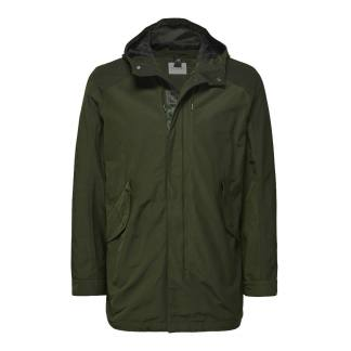 Selected Homme Shoreditch Short Parka Forest Night